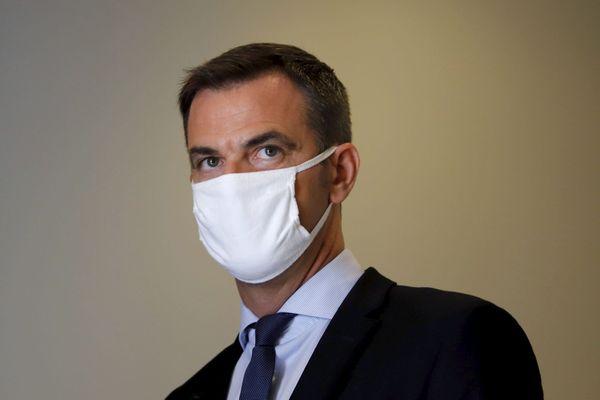 Olivier Véran, Ministre de la Santé, lors de la conférence de presse du 17 septembre 2020