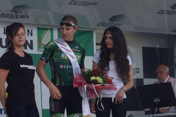 Cyril Gautier vainqueur de la 2ème étape du Tour du Limousin