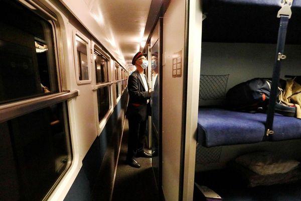 La mairie de Brioude a demandé au Secrétaire d'Etat et à la SNCF le retour de la ligne Nîmes-Paris en train de nuit.