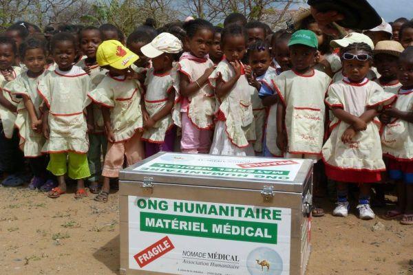 Une mission de l'association dijonnaise Nomade médical à Madagascar en 2011.