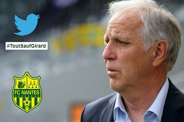 La possible arrivée de René Girard au FC Nantes ne fait pas l'unanimité auprès du public nantais