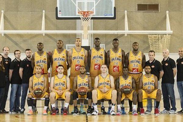 L'équipe de l'Orléans Loiret Basket