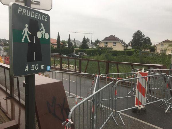 La voie Verte fermée à la circulation