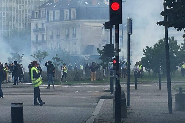 Manif Gilets Jaunes à Nantes le 11 mai 2019