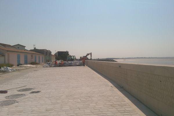 Le village des Boucholeurs a connu près de 18 mois de travaux qui s'achèveront en août 2017
