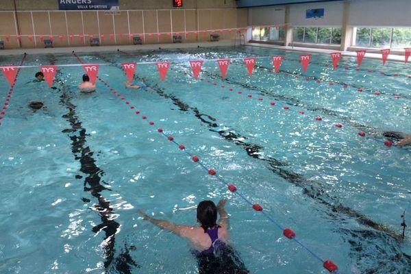 La piscine Montplaisir est pour l'instant réservées aux nageurs avec des séances d'1h15