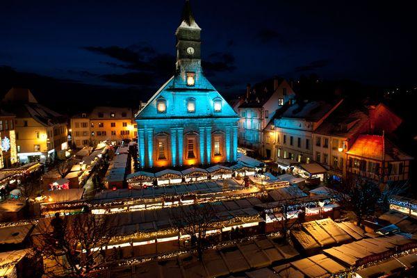 Le marché de Noël de Montbéliard attire 570 000 visiteurs