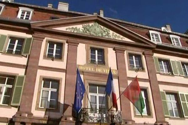 La mairie de Colmar