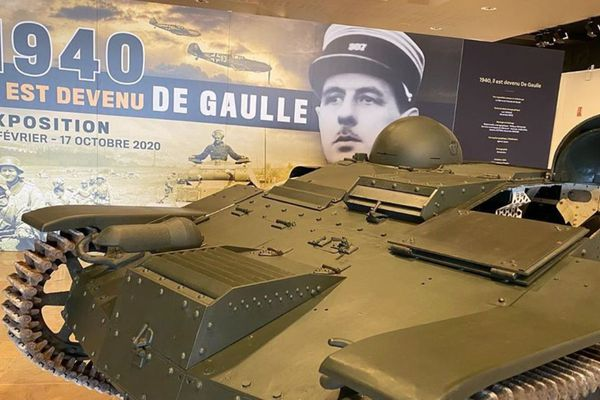 """L'exposition """"Il est devenu de Gaulle"""" retrace le parcours du général De Gaulle avant l'appel du 18 juin 1940."""