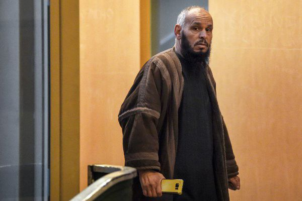 El Hadi Doudi, le 8 février dernier, au palais de justice de Marseille