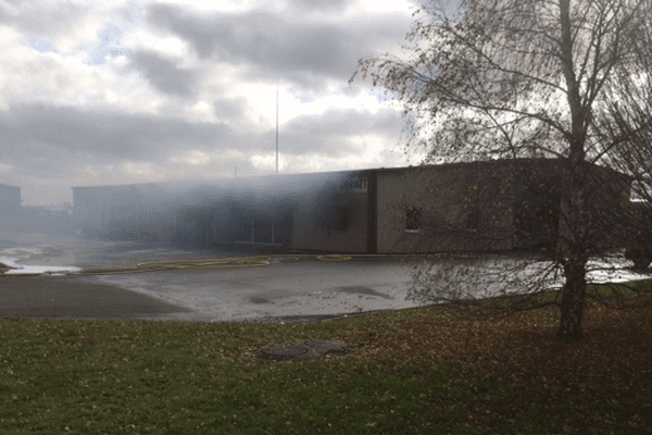Incendie à l'entreprise Cornet de Châtillon-Colligny (45
