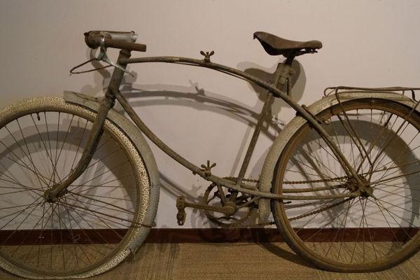 Ce vélo canadien a débarqué sur les plages de Normandie le 6 Juin 1944.