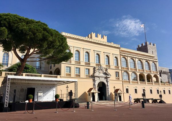 Le palais royal à Monaco