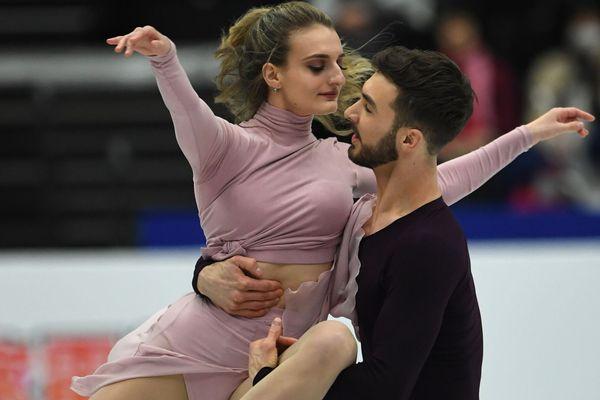 Le couple Clermontois Gabriella Papadakis et Guillaume Cizeron sacrés pour la quatrième fois champions du monde de danse sur glace au Japon le samedi 23 mars 2019