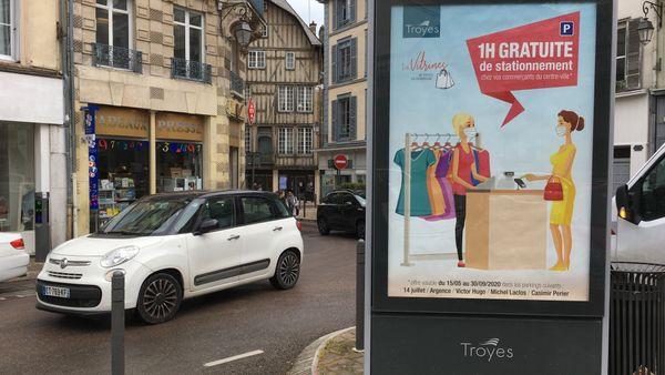 A Troyes, le stationnement gratuit joue les prolongations
