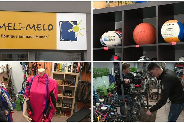 Une boutique de sport et un atelier de réparation de vélos ont été ouverts à Cronenbourg