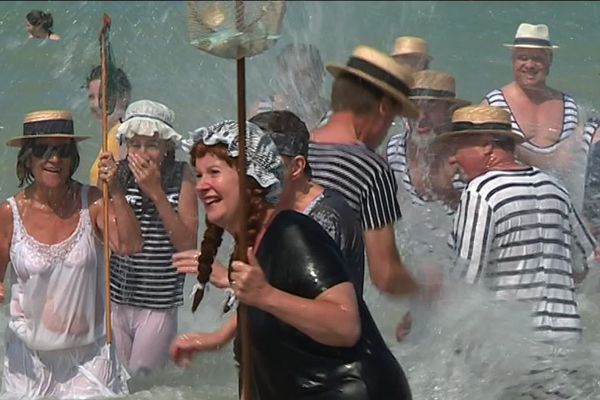 Fête des baigneurs 2018 à Mers-les-Bains