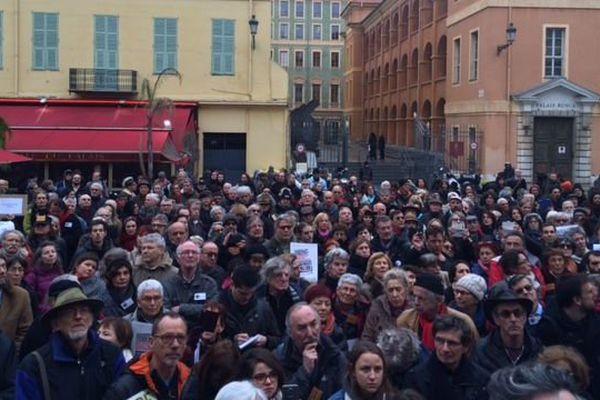 Rassemblement ce vendredi 10 février devant la palais de justice à Nice.