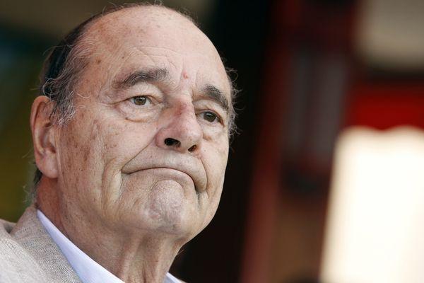 Jacques Chirac à Saint-Tropez, en 2011.