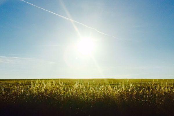 Les plaines du Vexin normand renoueront ce dimanche avec un ciel ensoleillé.