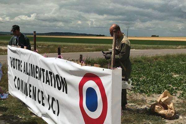 Marne : deux syndicats agricoles font campagne pour promouvoir leur filière