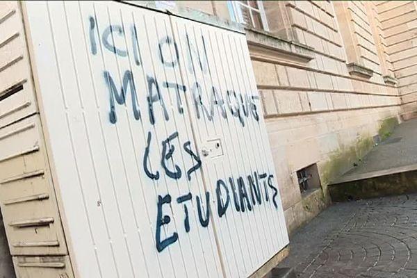 Les étudiants ont mis fin à l'occupation de la faculté de la Victoire dimanche sans l'intervention des forces de l'ordre.