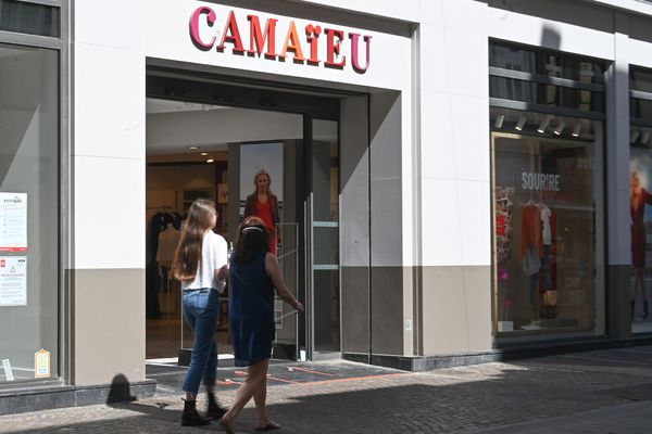 Un magasin Camaïeu à Lille
