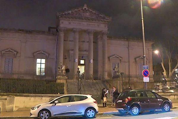 Perpignan - le palais de justice - 2017.