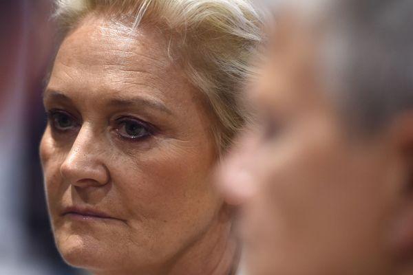 Marie-Caroline Le Pen, soeur aînée de Marine Le Pen, fait son apparition sur la liste du Rassemblement national à Calais.