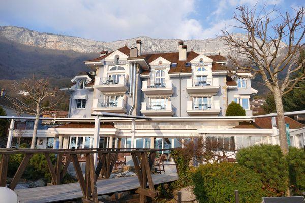 La Maison Bleue à Veyrier-du-Lac
