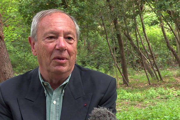 François Gaubert, signataire de la tribune des militaires, élu RNde l'Hérault au Conseil régional Occitanie - avril 2021.