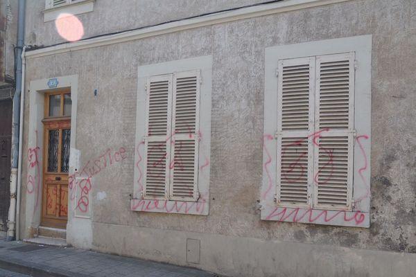 La permanence de Loïc Kervran a été dégradée à Bourges le week-end dernier.