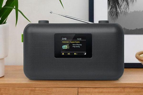 Radio portable à lecture numérique FM, DAB+.