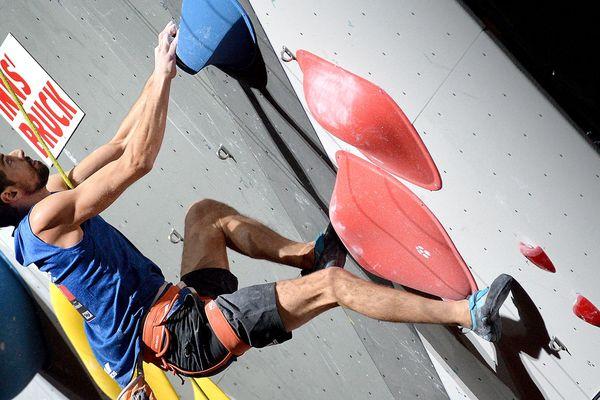 Romain Pagnoux, lors des championnats du monde 2018, à Innsbruck en Autriche