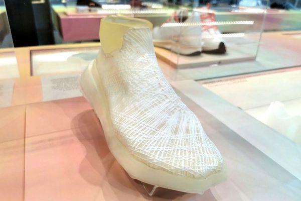Ce prototype de basket a été entièrement tissé par une bactérie.