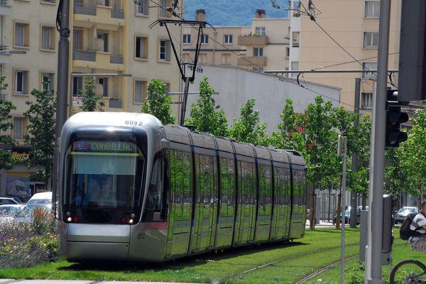 Une piétonne a été percutée par un tramway à Grenoble. (Illustration)
