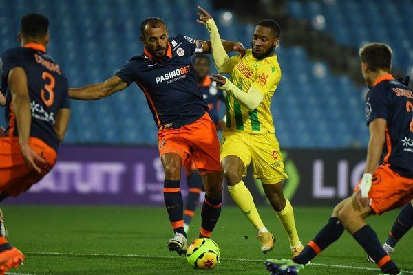 Les Nantais n'ont obtenu qu'un match nul face à Montpellier (1-1).