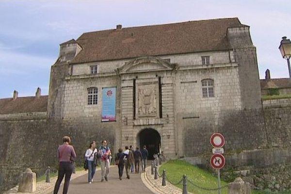 Besançon : la Citadelle de Vauban date de la fin du 17ème siècle.