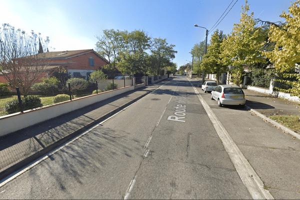 Les deux véhicules se sont percutés route de Saint Simon à Toulouse dans la nuit du mardi 27 octobre