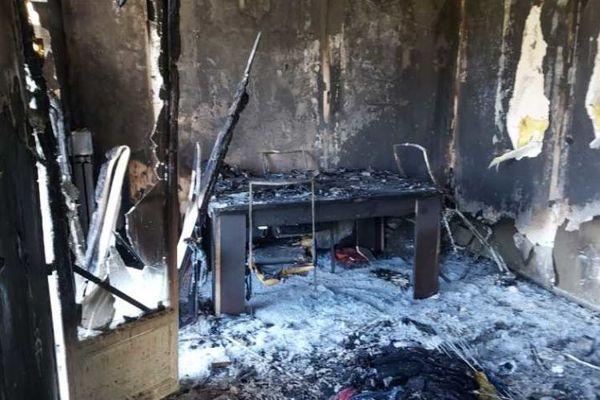 L'incendie serait d'origine accidentelle.
