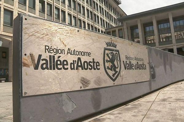 Le siège de la région Vallée d'Aoste