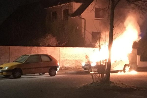 La voiture de Florent Jacob a été incendiée à Lingolsheim
