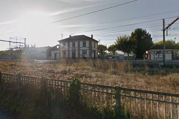 La gare de Cazères (31)