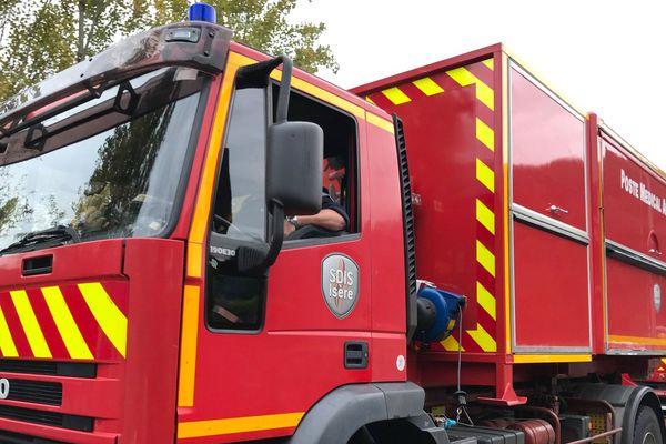 Les pompiers de l'Isère ont été mobilisés. (Illustration)