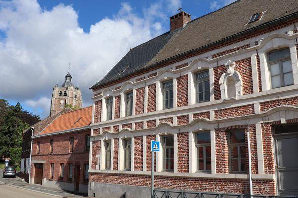 Le presbytère de Bersée accueille l'école de musique du village.