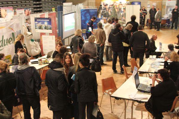 En 2017, 750 personnes ont participé au forum de l'emploi