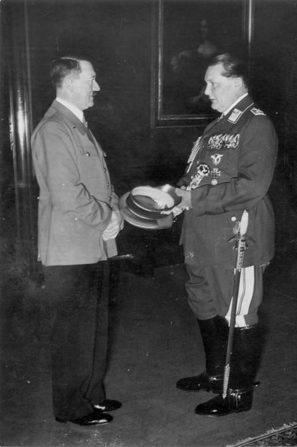 Adolf Hitler et Hermann Göring en 1940.