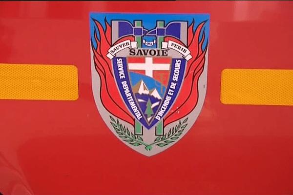 Un véhicule du Service départemental d'incendie et de secours de la Savoie (Sdis 73).