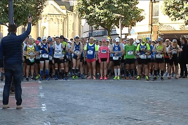 Environ 200 coureurs étaient au départ.
