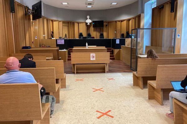 Toulouse - Cour d'appel, la salle d'audience où l'arrêt concernant la remise en liberté de Cédric Jubillar a été rendu - 8 juillet 2021.